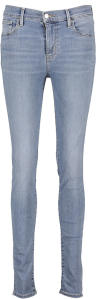 Lichtblauwe Jeans Levi's 720 HIGH-RISE SUPER SKINNY