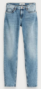 Lichtblauwe Jeans Scotch & Soda Mid Rise Slim