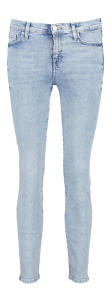 Lichtblauwe jeansbroek Super Skinny For all Mankind