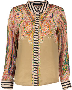 Multicolor Blouse met Kraag van Scotch And Soda