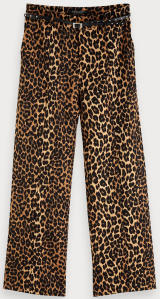 Multicolor Broek met Luipaardprint Scotch & Soda
