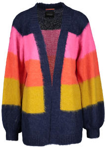 Multicolor Cardigan met Horizontale Strepen Scotch & Soda