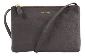 Taupe Dubbele Crossbodytas Ted Baker