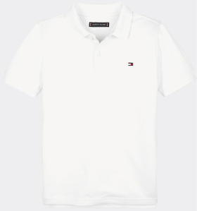 Witte polo met logo Tommy Hilfiger