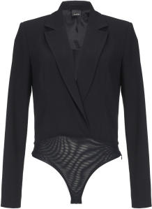 Zwarte Body in Blazer Pinko