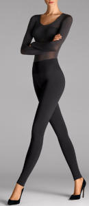 Zwarte egale Legging perfect fit Wolford