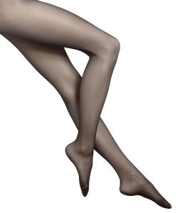 Zwarte Panty Wolford 20 Satin Touch
