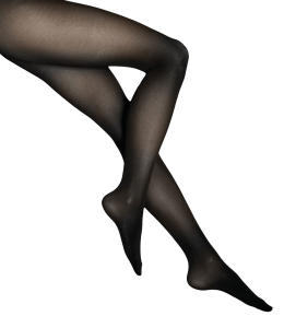 Zwarte Panty Wolford Satin Opaque 50