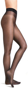 Zwarte panty WOLFORD SATIN TOUCH 20 COMFORT