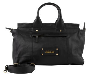 Zwarte shopper Clio Goldbrenner