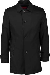 Zwarte Trenchcoat van Hugo Boss Red